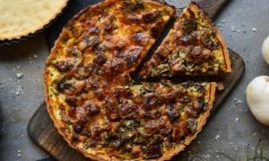 Η συνταγή της ημέρας: Τάρτα με γεύση καρμπονάρα