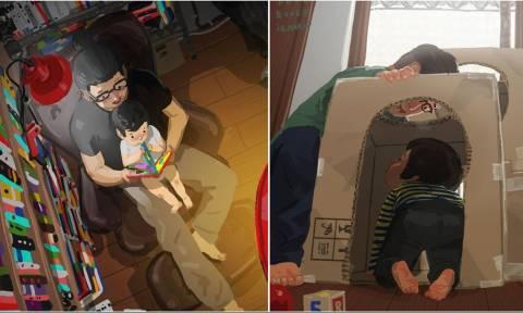 Συγκλονιστικό: Πώς είναι για έναν πατέρα να μεγαλώνει μόνος του παιδί;