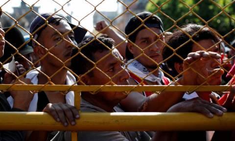 Μεξικό: Σε «επείγουσα ανθρωπιστική κατάσταση» η Τιχουάνα λόγω του καραβανιού μεταναστών
