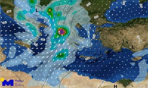 Καιρός: Προσοχή τις επόμενες ώρες - Η «Πηνελόπη» θα σαρώσει τη χώρα με καταιγίδες, χαλάζι και χιόνι