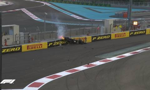Σοκαριστικό ατύχημα στη Formula 1 - Μονοθέσιο τούμπαρε και πήρε φωτιά (pics)