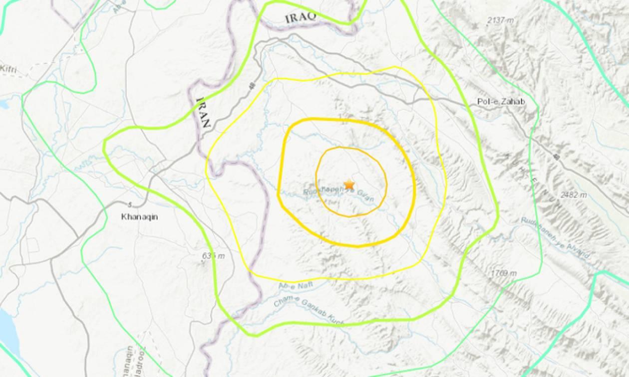 Ισχυρός σεισμός στα σύνορα Ιράν - Ιράκ (vids)