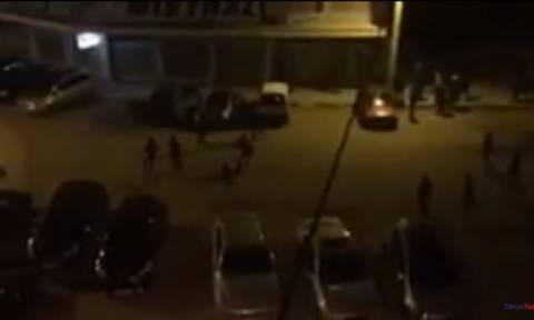 Άγριες συμπλοκές μεταξύ αλλοδαπών στη Θεσσαλονίκη (video)
