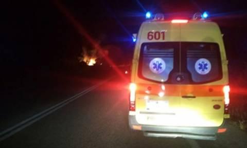 Τροχαίο στην Καλαμαριά: Ένας τραυματίας από εκτροπή οχήματος