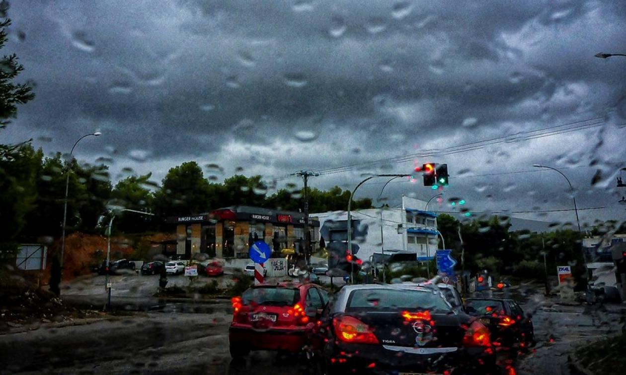 Κυκλοφοριακό χάος στην Αθήνα - Ποιους δρόμους να αποφύγετε