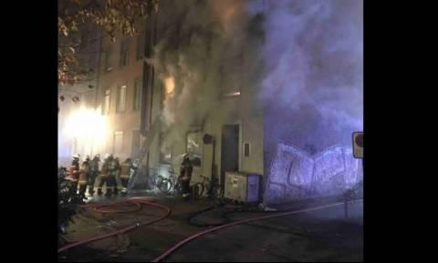 Ελβετία: Έξι νεκροί, μεταξύ των οποίων και παιδιά από μεγάλη φωτιά σε κτήριο (pics)