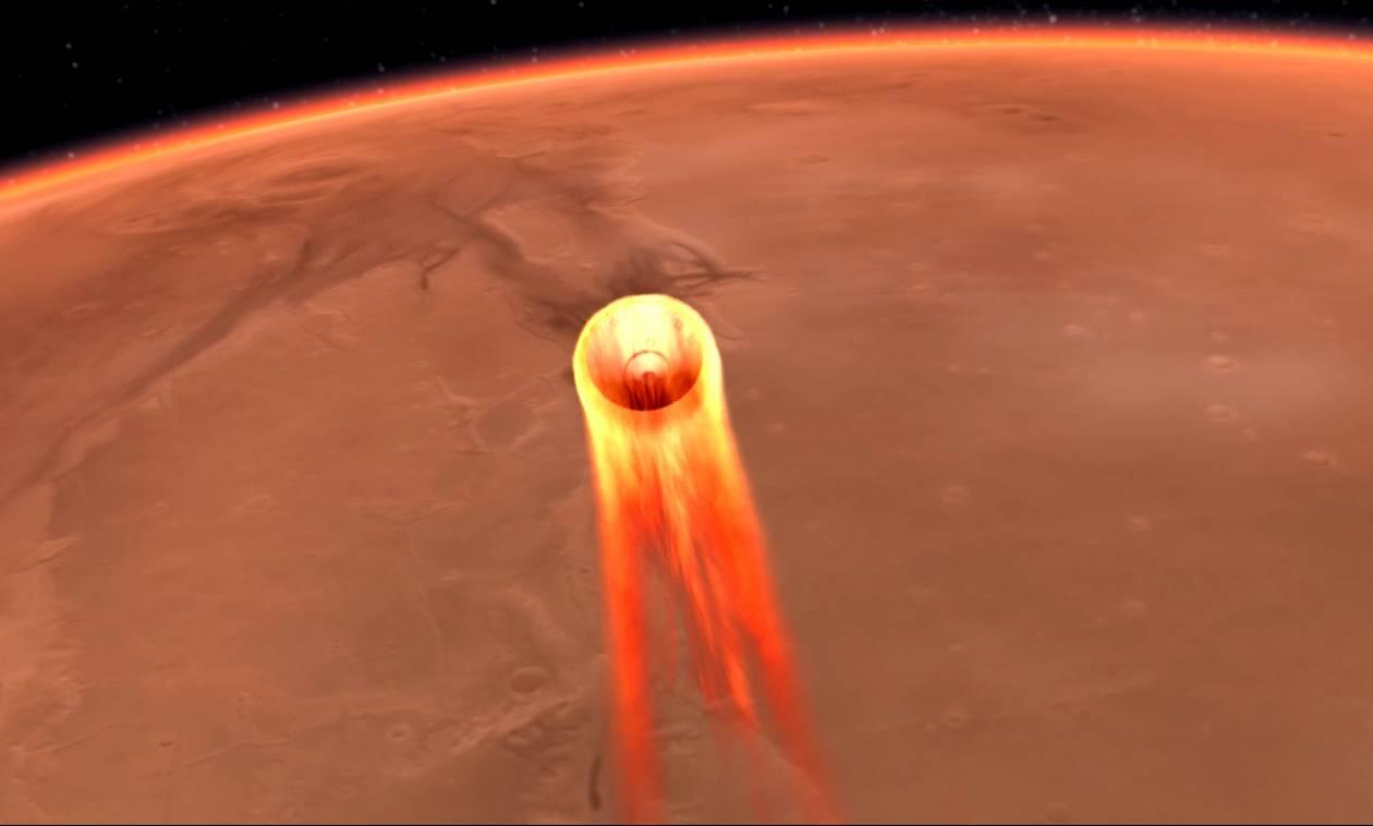 Η ανθρωπότητα γράφει ξανά ιστορία: Το διαστημόπλοιο InSight της NASA προσεδαφίστηκε στον Άρη (Vids)