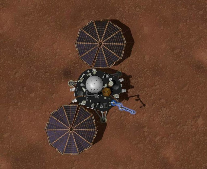Πλανήτης Άρης: Το διαστημόπλοιο InSight της NASA μεταφέρει ονόματα Κυπρίων πολιτών - Δείτε LIVE