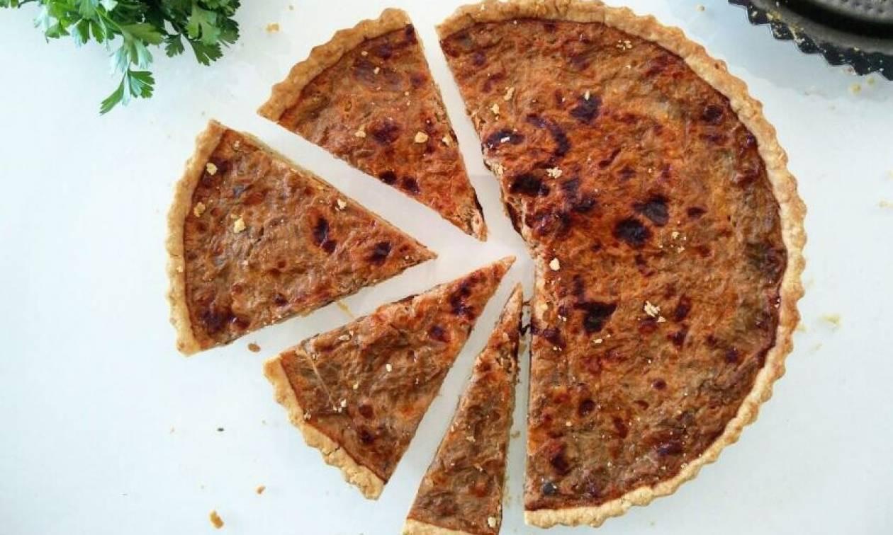 Η συνταγή της ημέρας: Μελιτζανόπιτα