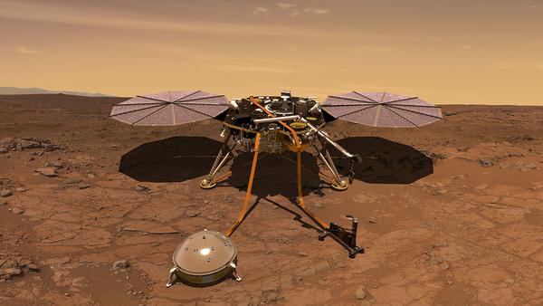InSightΠηγήNASA JPL Caltech