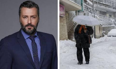 Καιρός - Προειδοποίηση Καλλιάνου: Έρχονται χιόνια – Θα το στρώσει και στα πεδινά