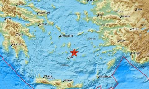 Σεισμός: Ισχυρή σεισμική δόνηση κοντά στην Αμοργό - Αισθητή και στην Αθήνα (pic)