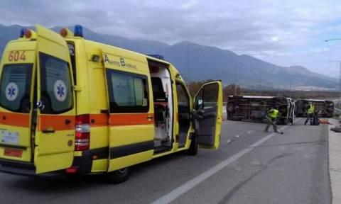 Νέο τροχαίο στην Εγνατία Οδό - Νεκρός ένας μετανάστης