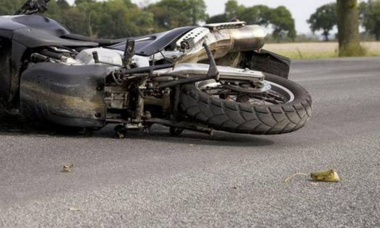 Πιερία: Νεκρός 65χρονος μοτοσικλετιστής μετά από τροχαίο στον Μακρύγιαλο