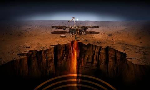 Σαν από άλλη διάσταση: Στον Άδη προσεδαφίστηκε το InSight της NASA (Pics+Vids)