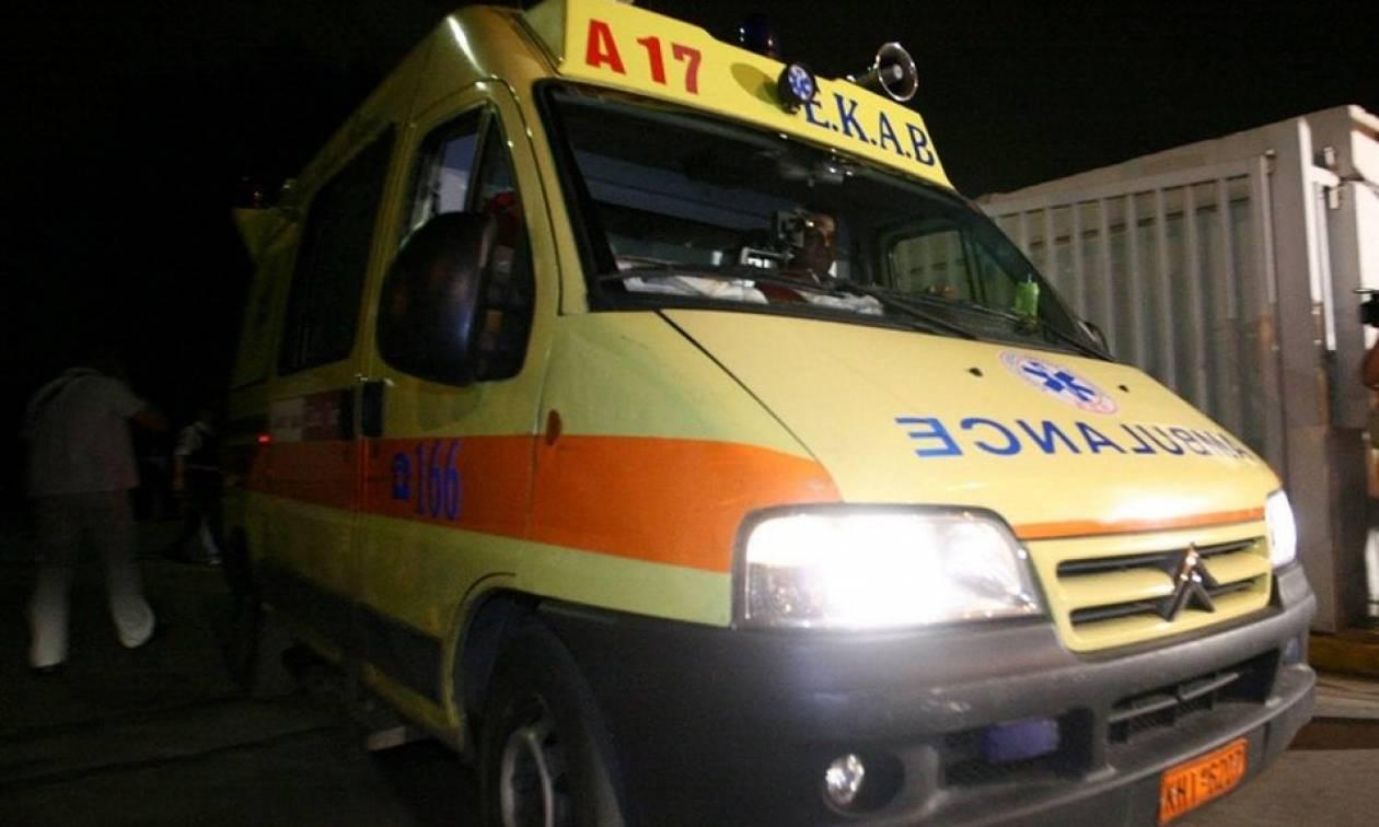 Ναύπακτος: Σοβαρό τροχαίο με τρεις τραυματίες στον Πλατανίτη (pics&vid)