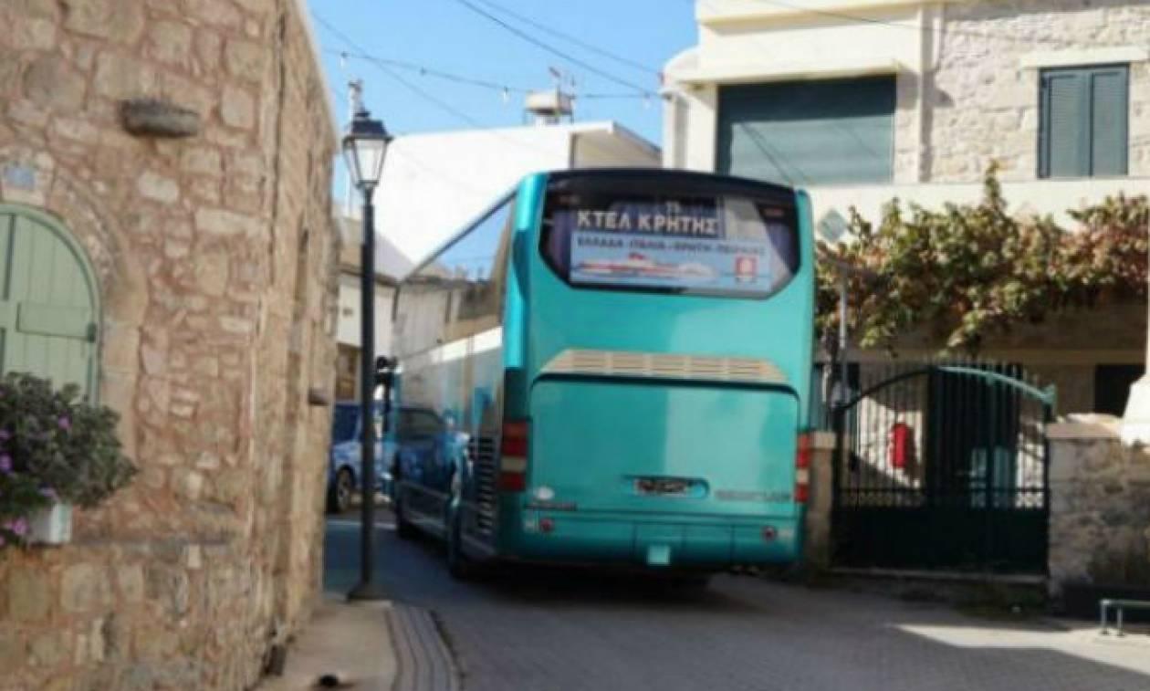Χανιά: Απίστευτο περιστατικό με οδηγό του ΚΤΕΛ