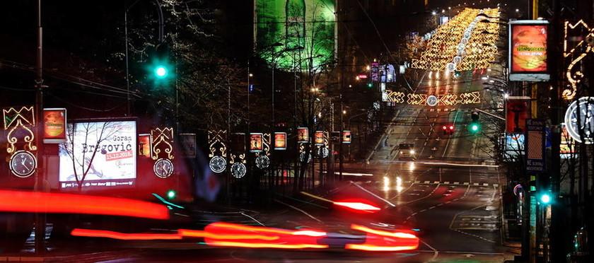 Τα Χριστούγεννα έφτασαν στο Βελιγράδι και εντυπωσιάζουν