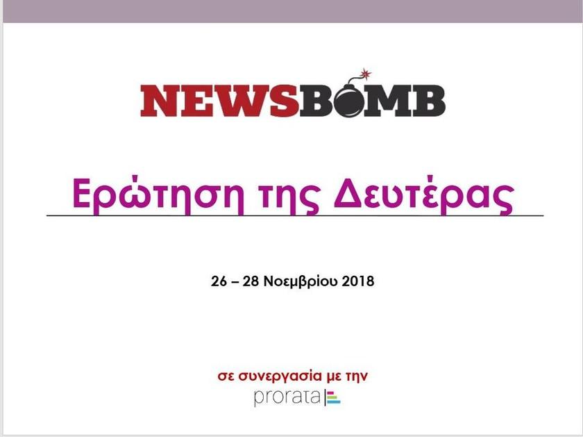 Δημοσκόπηση Newsbomb.gr: Ποια ξένη χώρα θεωρούν οι πολίτες σύμμαχο της Ελλάδας