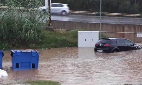 Καιρός: Στο έλεος της «Πηνελόπης» η Κρήτη - «Βροχή» τα προβλήματα (pics+vids)