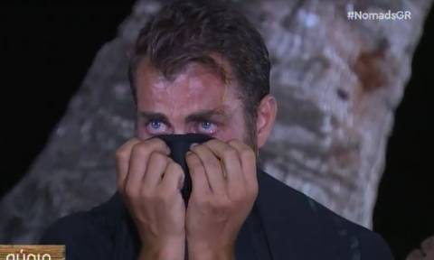Nomads 2: Πλάνταξε στο κλάμα ο Στέλιος Χανταμπάκης – Τι συνέβη;