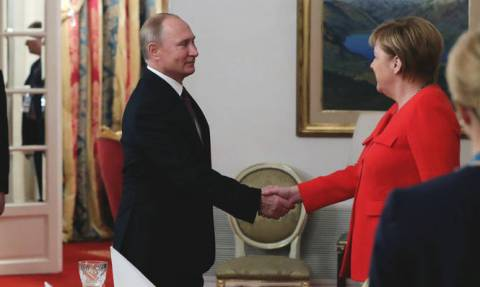 G20: Συνομιλίες για το Κερτς με τη συμμετοχή Ουκρανίας και Γαλλίας συμφώνησαν Μέρκελ - Πούτιν