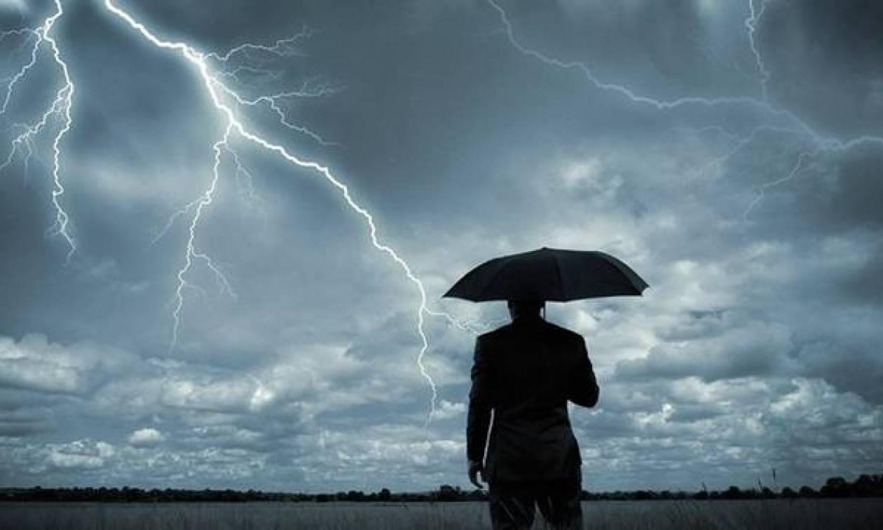 Νέα επιδείνωση του καιρού με κατά τόπους ισχυρές καταιγίδες. Η πρόγνωση μέχρι την Παρασκευή...