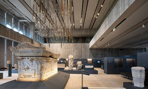 Εκεί που ζωντανεύουν οι ήρωες του Ομήρου: Στα «άδυτα» του εντυπωσιακού μουσείου της Τροίας (Pics)