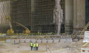 Στα «άδυτα» του εντυπωσιακού νέου μουσείου του Καΐρου – Θα είναι ένα από τα μεγαλύτερα στον πλανήτη
