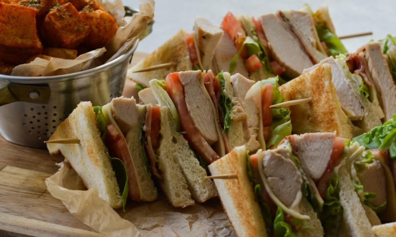 Η συνταγή της ημέρας: Club sandwich