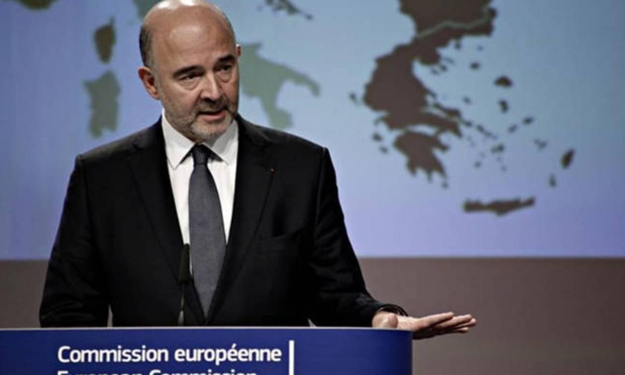 Eurogroup - Μοσκοβισί: Η περικοπή των συντάξεων στην Ελλάδα δεν είναι αναγκαία