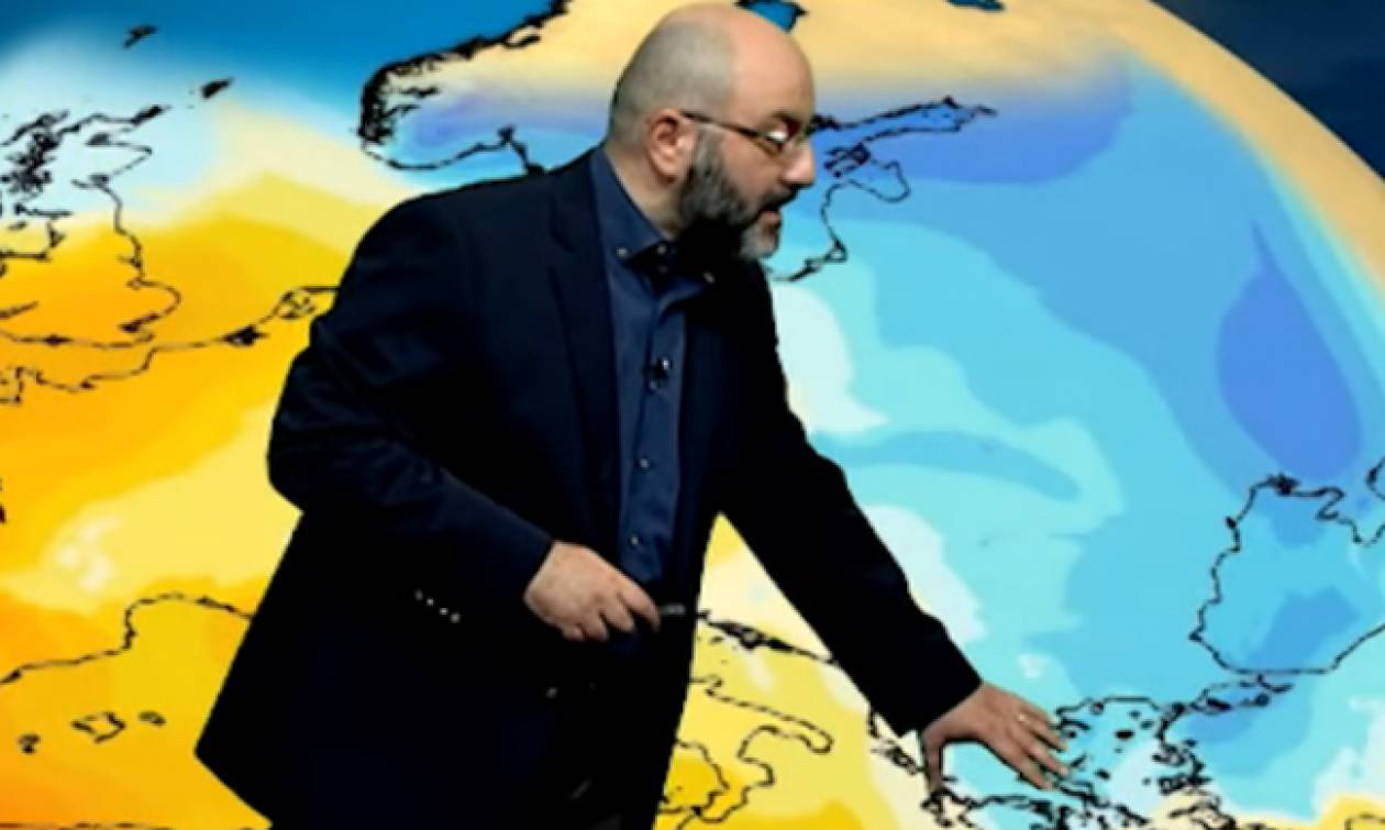 Καιρός: Μίνι ψυχρή εισβολή την Πέμπτη! Πού θα χιονίσει; Η ανάλυση του Σάκη Αρναούτογλου (Video)