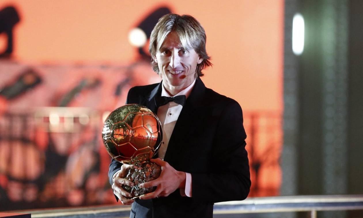 Και επίσημα τη «Χρυσή Μπάλα» ο Μόντριτς (photo)