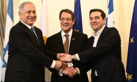 Συμμαχία Ελλάδας, Κύπρου, Ισραήλ απέναντι στον «σουλτάνο»