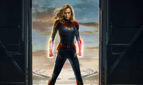 Ενθουσιασμένοι όσο δεν πάει με το νέο τρέιλερ της Captain Marvel!