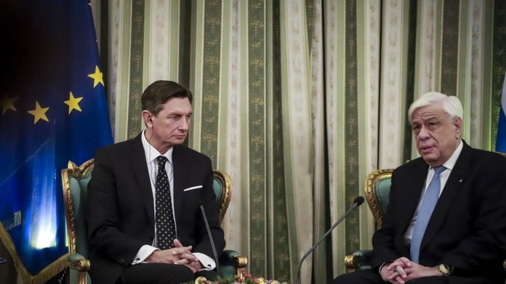 Παυλόπουλος: Δεν θα δεχθούμε αλυτρωτικές ερμηνείες της Συνθήκης των Πρεσπών από τα Σκόπια