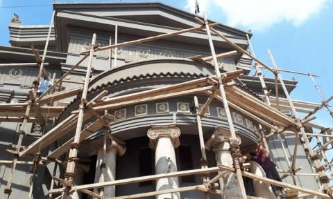 Στα άδυτα του εμβληματικού ναού των Ελλήνων του Καΐρου που «αναγεννιέται» (pics)