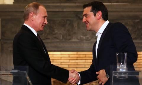 Συνάντηση Πούτιν – Τσίπρα: Τέλος στις «ψυχρές» σχέσεις Ελλάδας – Ρωσίας με ένα εντυπωσιακό δώρο