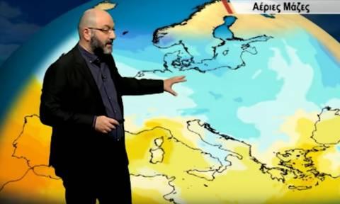 Καιρός  Έκτακτη ενημέρωση του Σάκη Αρναούτογλου για τα χιόνια της επόμενης  εβδομάδας (video) deec90869ed
