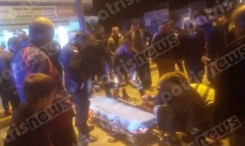 Πύργος: Τροχαίο ατύχημα με έναν τραυματία στην Πατρών (pics)