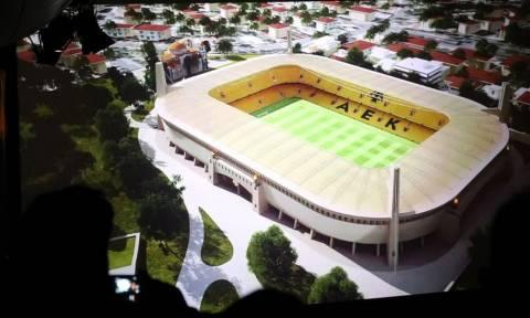 Ανατριχιαστική ιστορία: Ζήτησε το νέο γήπεδο της ΑΕΚ στον τάφο του... (photo+video)
