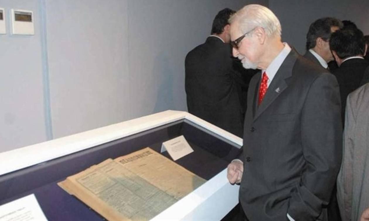 Πέθανε ο εκδότης της εφημερίδας «Πελοπόννησος» Σπύρος Δούκας