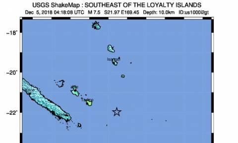 Νέα Καληδονία: Παλιρροϊκά κύματα στον Ειρηνικό μετά τον ισχυρό σεισμό των 7,6 Ρίχτερ