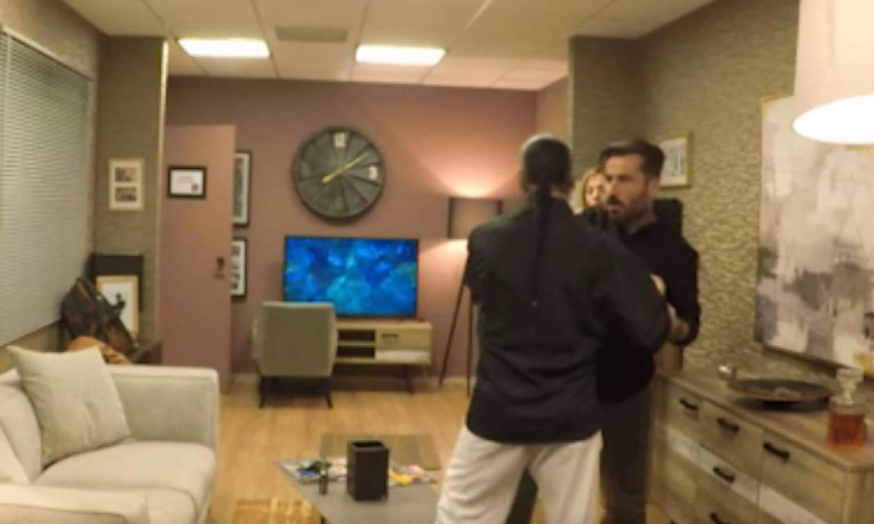 Απίστευτη φάρσα στον Γιώργο Μαυρίδη – Λίγο έλειψε να παίξει ξύλο! (video)