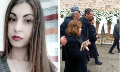 Σπαραγμός και οδύνη στην κηδεία της Ελένης – Οργή για τους δολοφόνους της φοιτήτριας