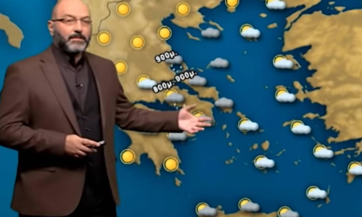 Καιρός: Πού θα χιονίσει την Πέμπτη; Η ανάλυση του Σάκη Αρναούτογλου (video)