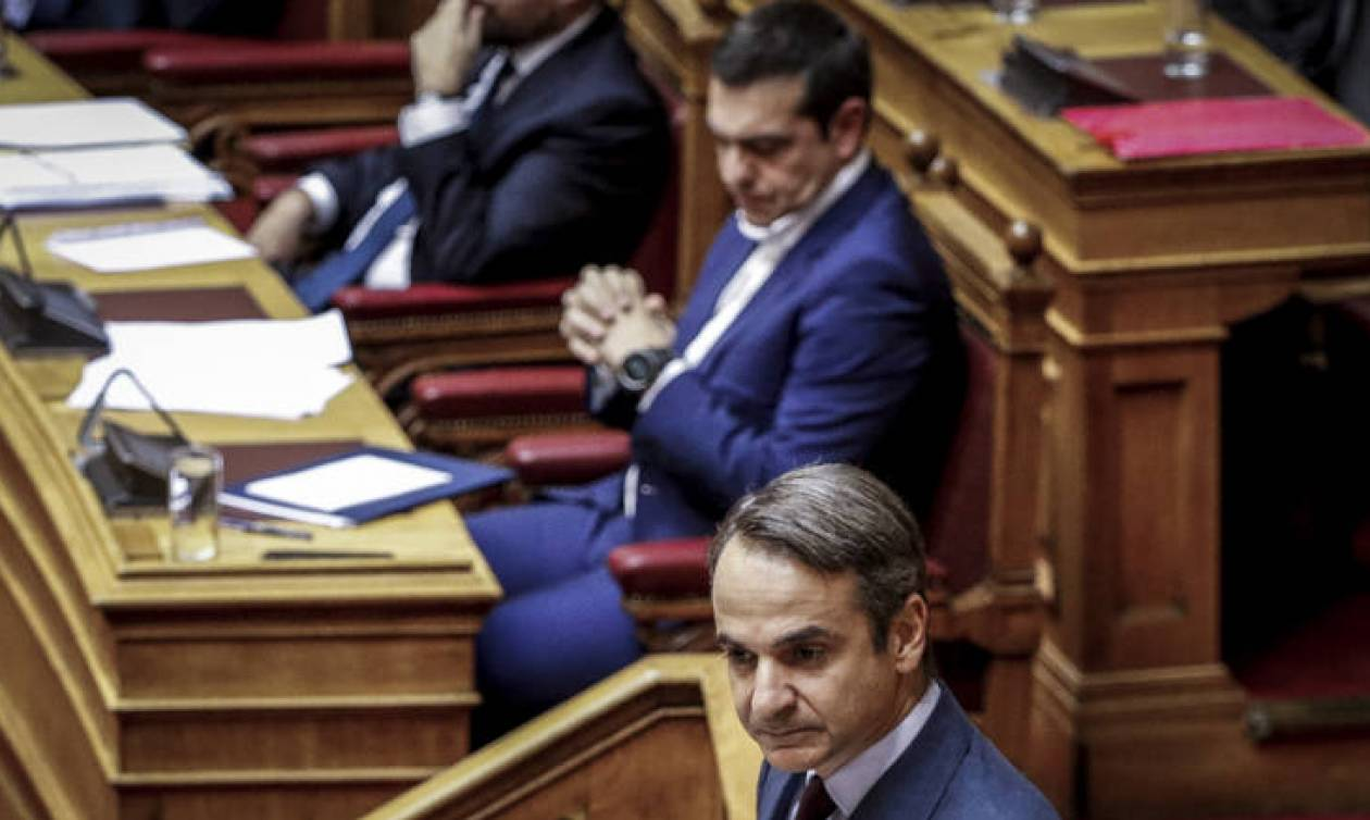 Πόλεμος ανακοινώσεων ΣΥΡΙΖΑ - ΝΔ για τη συνέντευξη Μητσοτάκη στους FT