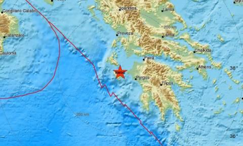 Σεισμός: Μετασεισμική δόνηση κοντά στη Ζάκυνθο (pics)