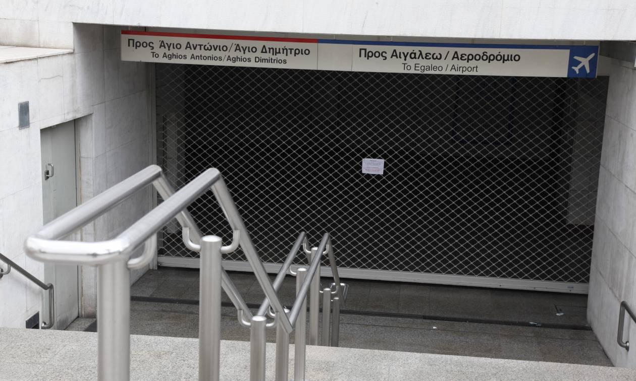 Επέτειος Γρηγορόπουλου: Έκλεισε ο σταθμός του Μετρό στο Σύνταγμα