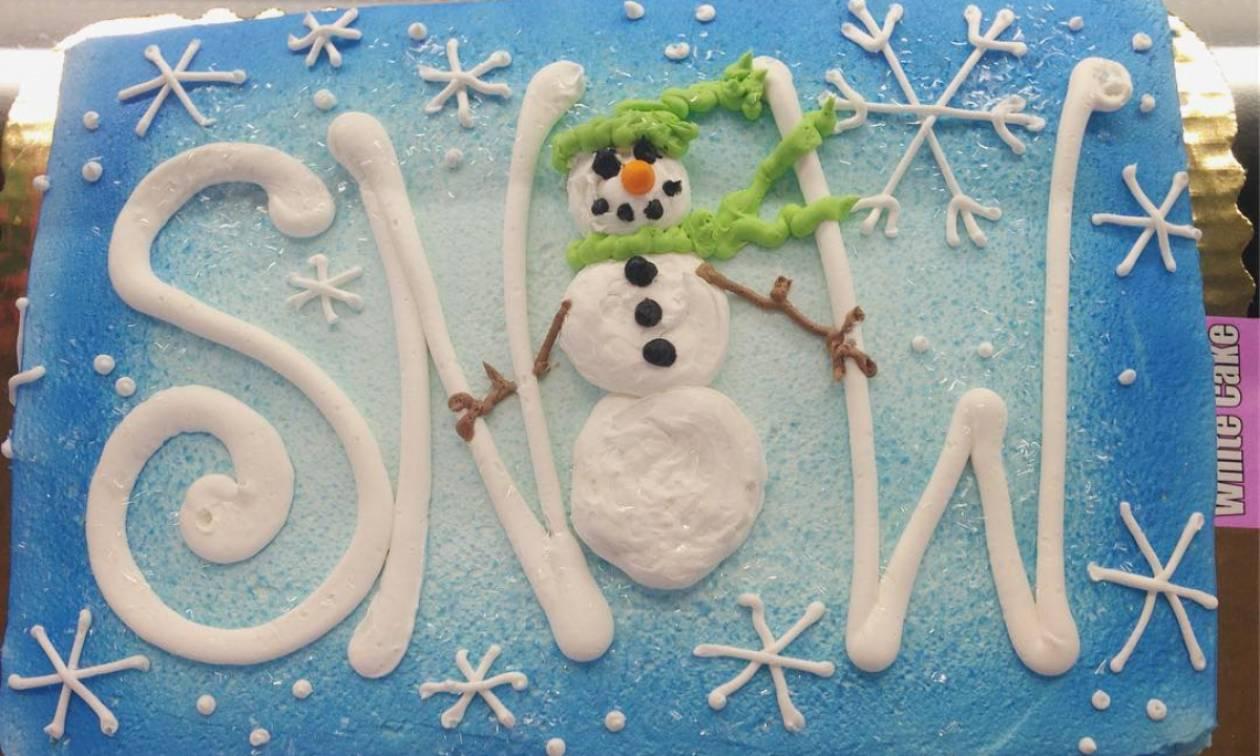 Ιδέες για χειμωνιάτικες τούρτες (pics)